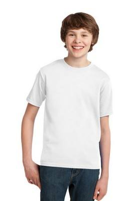 Port & Company Youth Essential White T-Shirt