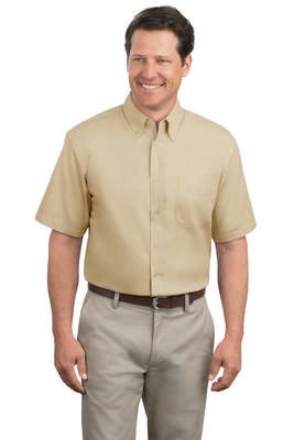 Port Authority Men's Short Sleeve Easy Care Button-Down Shirt