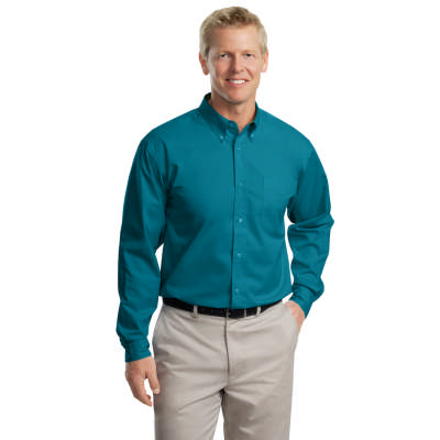 Port Authority Men's Long Sleeve Easy Care Button-Up Shirt