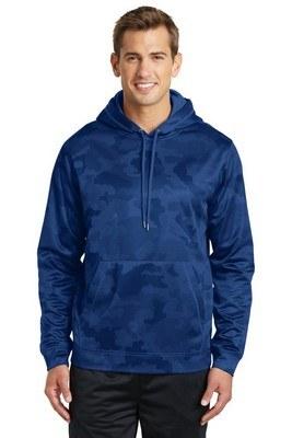 Sport-Tek Men's CamoHex Fleece Pullover Sweatshirt