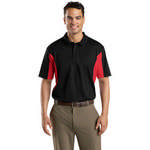 Picture of Sport-Tek - Men's Short Sleeve Side Blocked Micropique Polo