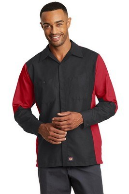 Red Kap Men's Long Sleeve Ripstop Shirt