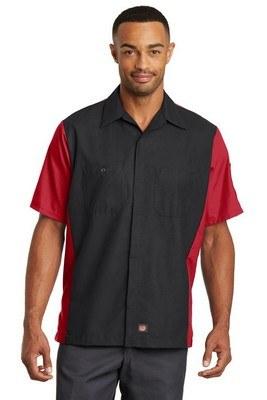 Red Kap Men's Short Sleeve Ripstop Shirt