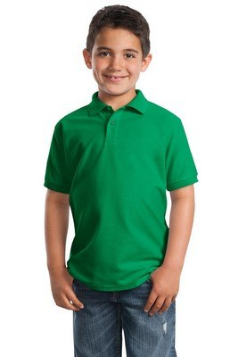 Port Authority Youth Short Sleeve Silk Touch Polo