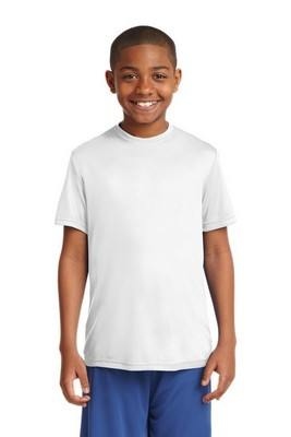 Sport-Tek Youth Competitor White Tee