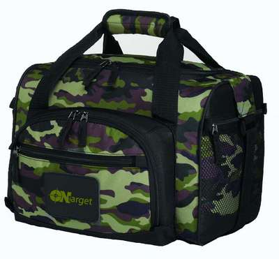 Camouflage 12-Can Convertible Duffel Cooler