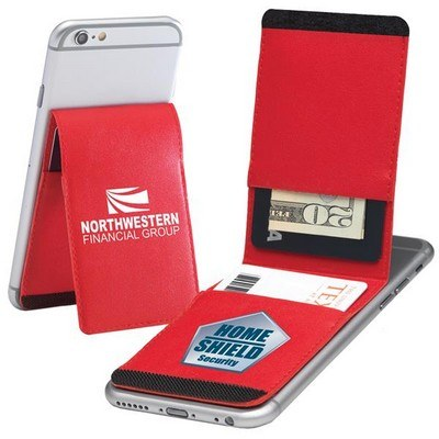 Bifold Cell Mate Smartphone Wallet & Stand