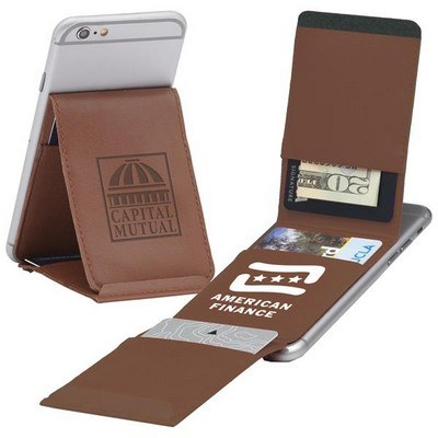 Trifold Cell Mate Smartphone Wallet & Stand