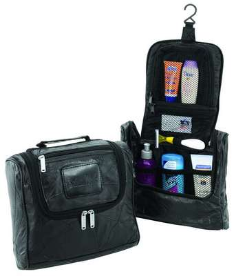 Legacy Leather Travel Mate Toiletry Kit