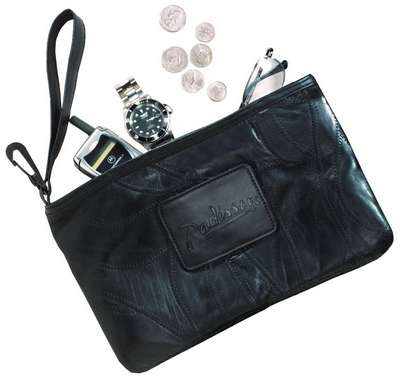 Legacy Leather Valuables Pouch