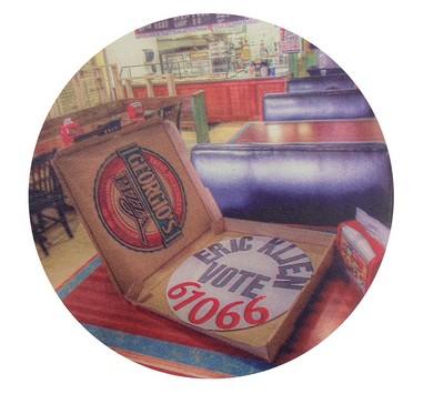 "Custom Logo 3.5"" Round Beverage Coaster"