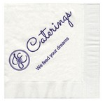 Picture of Customizable 3-Ply Cocktail Napkins in White