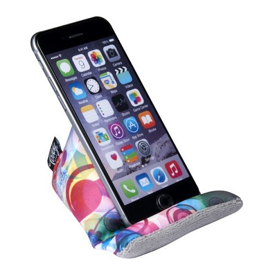 The Wedge Mobile Device Stand and Cleaner