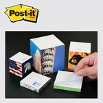Picture of Customizable Post It® Custom Printed Note Cube