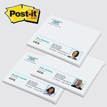 "Picture of Custom Full Color 3""x4"" Post It® Note Sheets"