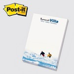 "Picture of Custom Color Printed 4""x6"" Post It® Note Sheets"