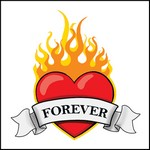 Picture of Forever Heart Stock Tattoo