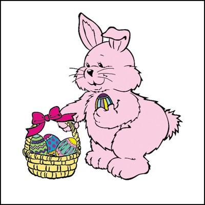 Easter Bunny Stock Tattoo