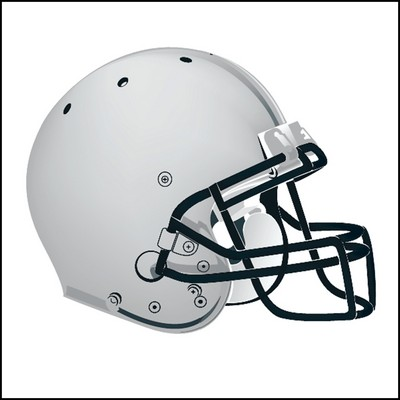 Football Helmet Stock Tattoo