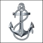 Picture of Anchor Stock Tattoo
