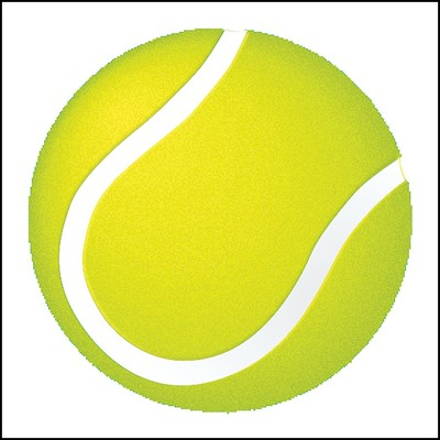 Tennis Ball Stock Tattoo