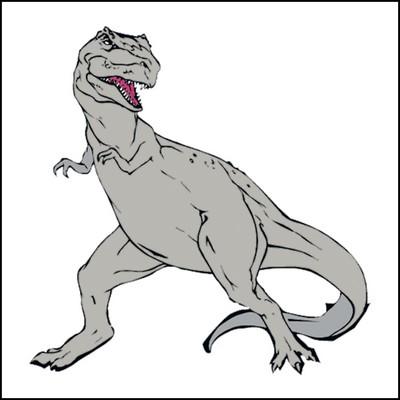 Dinosaur Stock Tattoo