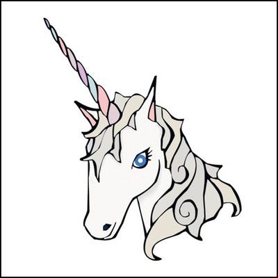 Unicorn Stock Tattoo