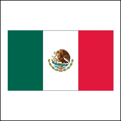 Mexican Flag Stock Tattoo