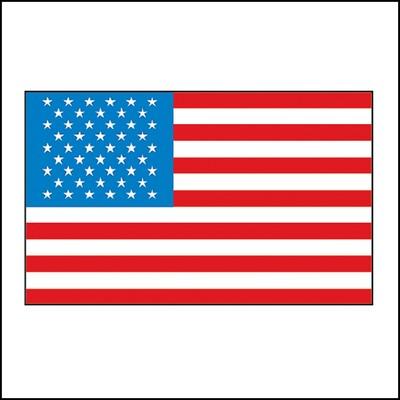 American Flag #1 Stock Tattoo