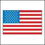 Picture of American Flag #1 Stock Tattoo
