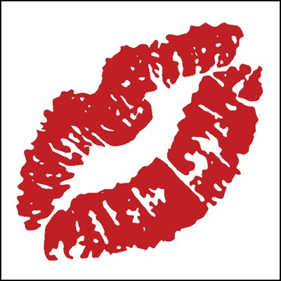 Red Lip Stock Tattoo