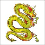 Picture of Dragon Stock Tattoo