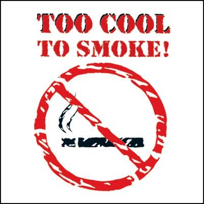Too Cool To Smoke Stock Tattoo