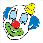 Picture of Clown Face Stock Tattoo