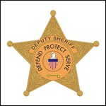 Picture of Deputy Sheriff Badge Stock Tattoo