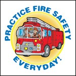 Picture of Practice Fire Safety Everyday Stock Tattoo