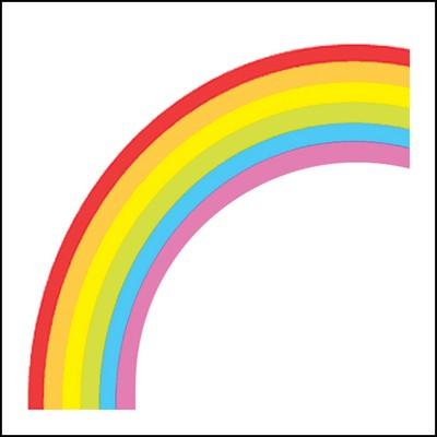 Rainbow Stock Tattoo