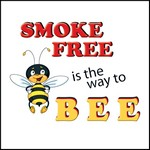 Picture of Smoke Free Is The Way To Bee Stock Tattoo