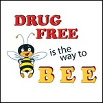 Picture of Drug Free Is The Way To Bee Stock Tattoo
