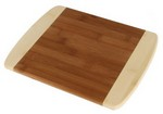 "Picture of 11"" Two Tone Bamboo Cutting Board"