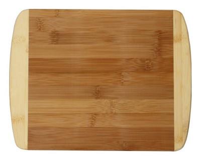 """11"""" Two Tone Bamboo Cutting Board"""
