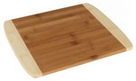 "Picture of 13"" Two Tone Bamboo Cutting Board"