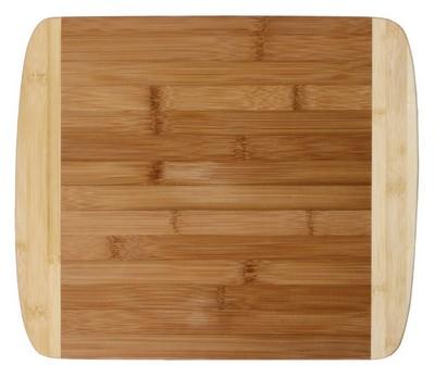 """13"""" Two Tone Bamboo Cutting Board"""