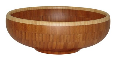 "12"" Flared Bamboo Bowl"