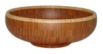 "Picture of 12"" Flared Bamboo Bowl"