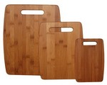 Picture of 3 Piece Bamboo Cutting Board Set
