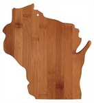Picture of Wisconsin Bamboo Cutting Board
