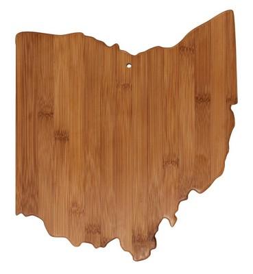 Ohio Bamboo Cutting Board