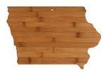 Picture of Iowa Bamboo Cutting Board