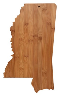 Mississippi Bamboo Cutting Board